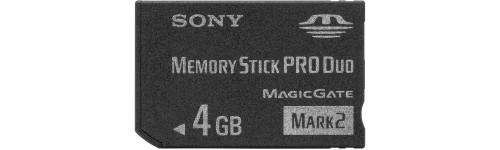 Cartes Memory stick pro duo